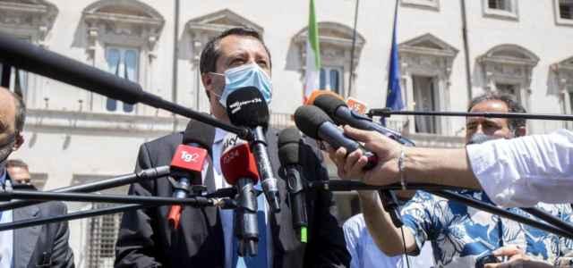 Salvini da Draghi