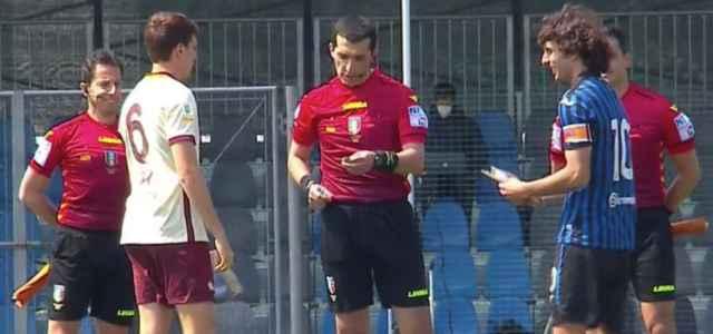 Roma Atalanta Primavera arbitro facebook 2021 1 640x300