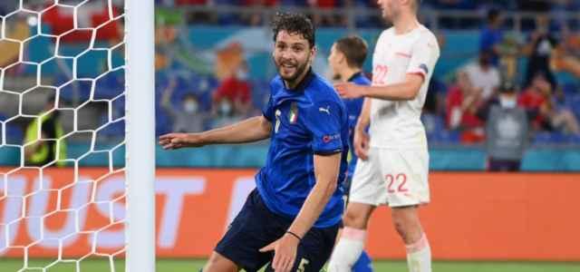 Manuel Locatelli gol Italia Svizzera lapresse 2021 640x300