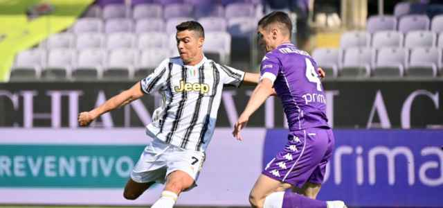 Ronaldo Milenkovic Fiorentina Juventus lapresse 2021 640x300