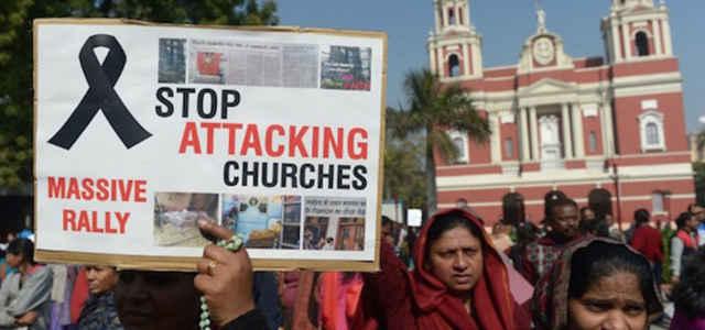 India, manifestazione contro la persecuzione dei cristiani