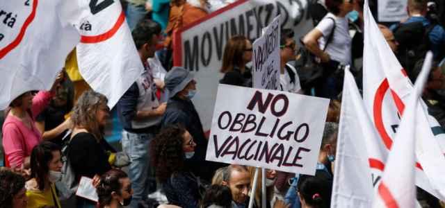 No vax indagato a Roma