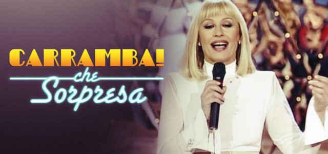 Logo di 'Carràmba! Che sorpresa' con Raffaella Carrà