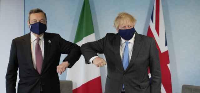 Draghi con Johnson