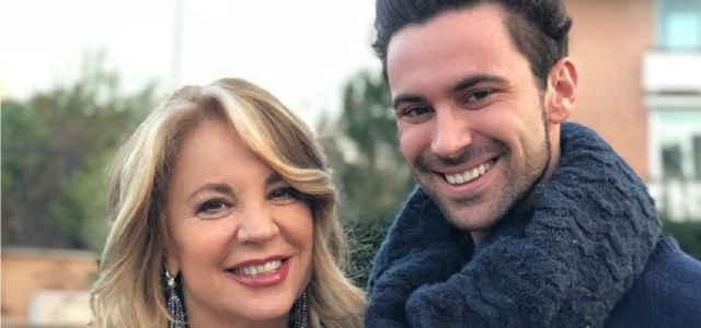 Viviana Stucchi in compagnia del figlio Luca Vismara