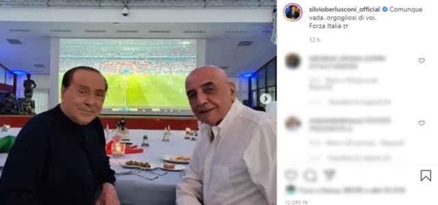 silvio berlusconi galliani instagram 640x300
