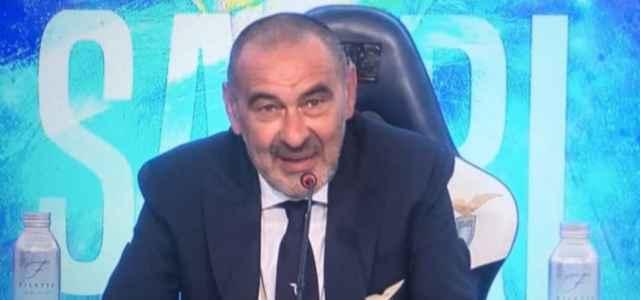 Maurizio Sarri Lazio presentazione facebook 2021 1 640x300