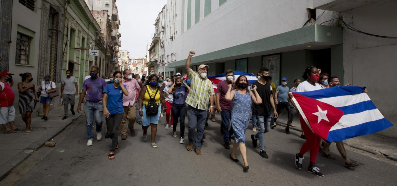 Cuba, proteste