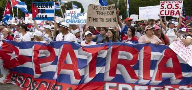Proteste contro regime Cuba