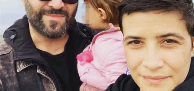 Giuliano Sangiorgi in compagnia di Ilaria Macchia e della figlia Stella