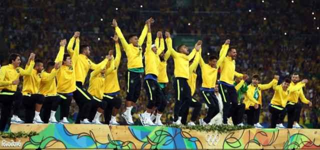 Brasile calcio podio Olimpiadi facebook 2021 1 640x300
