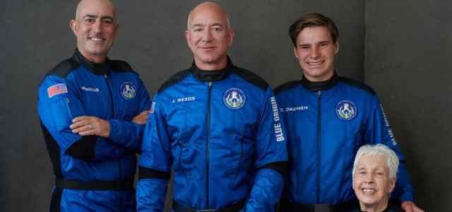 Blue Origin nello spazio