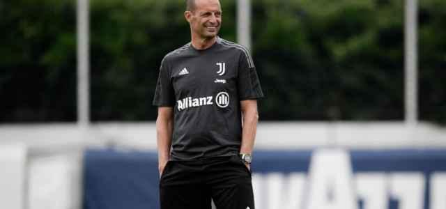 Allegri allenamento Juventus facebook 2021 640x300