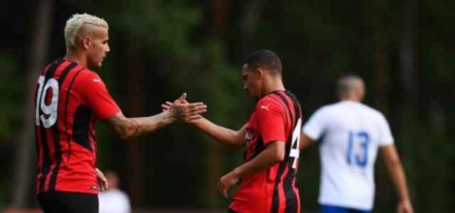 Theo Hernandez Bennacer Milan Pro Sesto facebook 2021 1 640x300