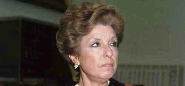 La moglie di Paolo Borsellino Agnese Piraino Leto