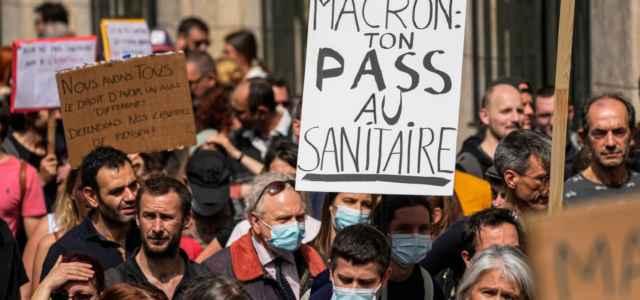 francia protesta covid pass 1 lapresse1280 640x300