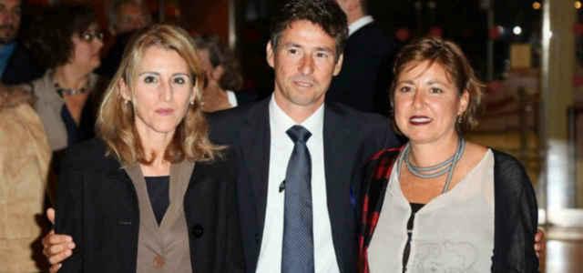 I figli di Paolo Borsellino Lucia, Manfredi e Fiammetta