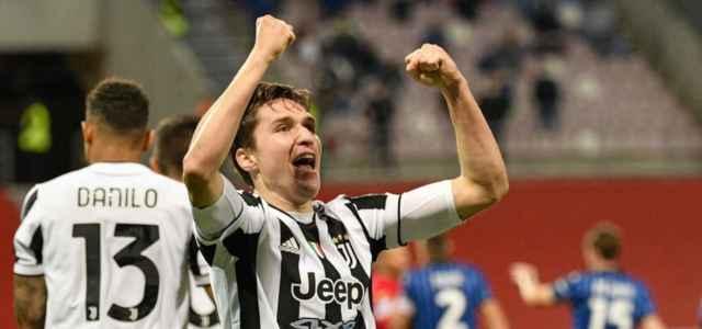Federico Chiesa Esulta Juventus 2021 640x300