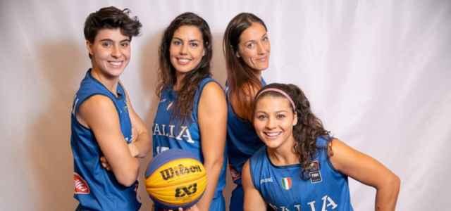Italia gruppo giocatrici basket 3x3 facebook 2021 1 640x300