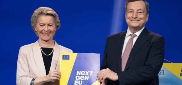Draghi, Von der Leyen