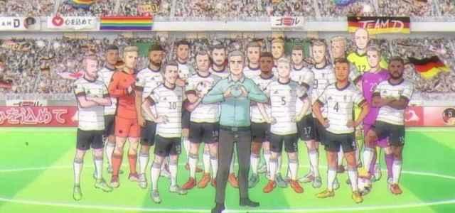 Germania fumetto calcio Olimpiadi facebook 2021 1 640x300