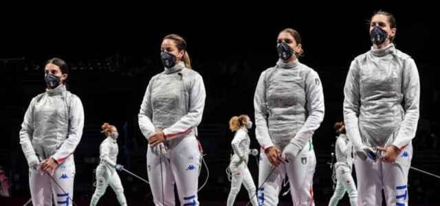 Italia fioretto donne Olimpiadi facebook 2021 1 640x300