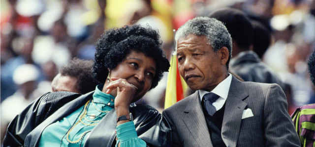 L'ex moglie di Nelson Winnie Mandela