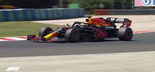 Max Verstappen domina le FP1 del GP d'Ungheria (Twiter)