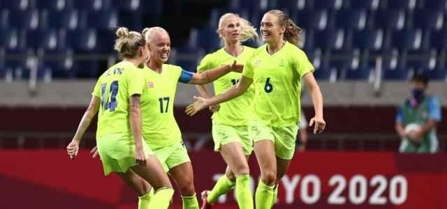 Svezia esultanza Olimpiadi facebook 2021 1 640x300