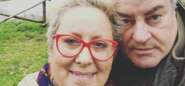 Carolyn Smith in compagnia del marito Ernestino Michielotto