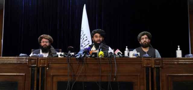 conferenza stampa talebani