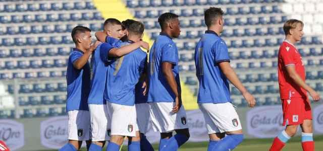 Italia U21 Under gol esultanza Twitter 2021 1 640x300