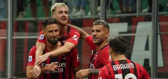 Giroud Saelemaekers Theo Brahim Milan gol Twitter 2021 1 640x300