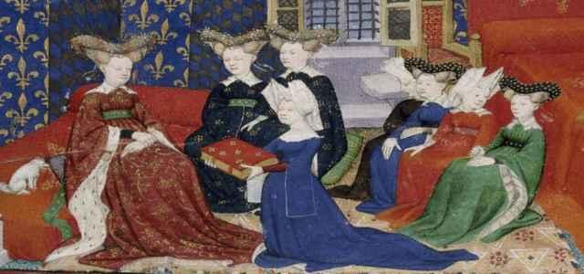 Christine de Pisan and Queen Isabeau 640x300