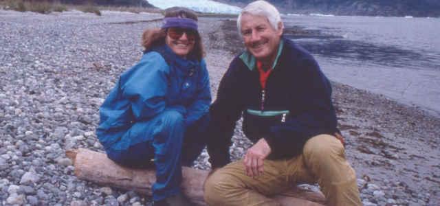Walter Bonatti e Rosanna Podestà, madre di Stefano Vicario