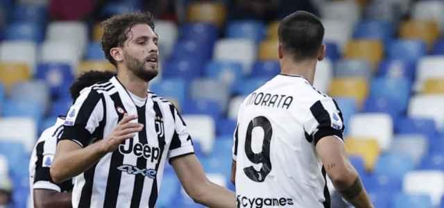 Locatelli Morata Juventus twitter 2021 2 640x300