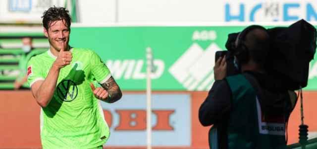 Wout Weghorst gol Wolfsburg twitter 2021 2 640x300
