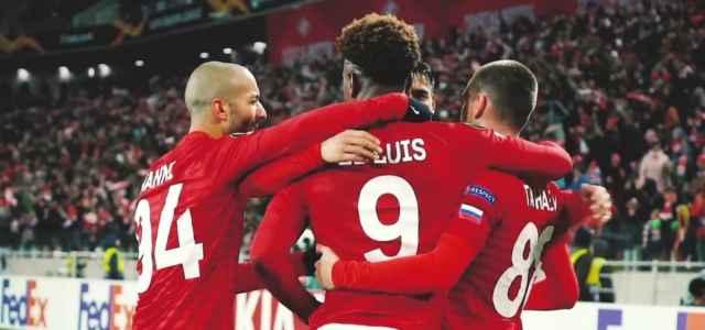 Spartak Mosca gol gruppo Twitter 2021 640x300