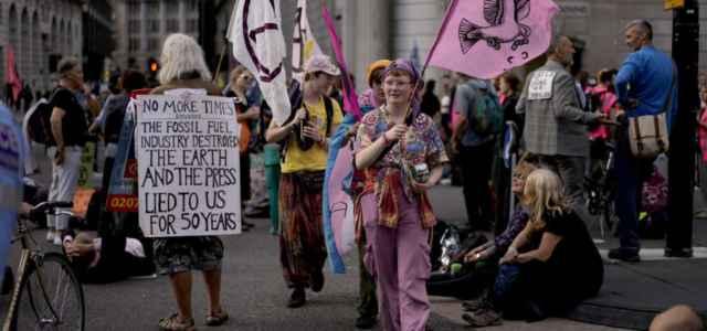 Clima, le proteste