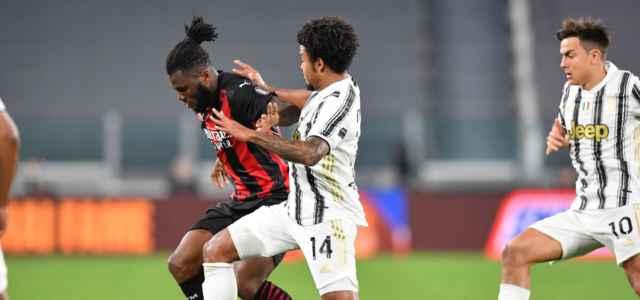 Kessie McKennie Dybala Juventus Milan lapresse 2021 640x300