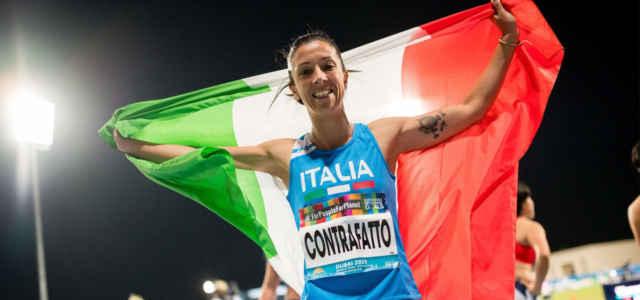 Monica Contrafatto, l'atleta paralimpica azzurra