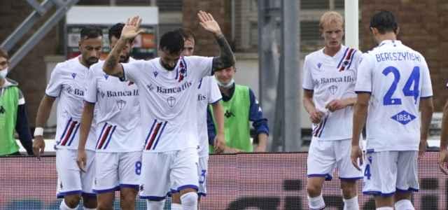 Caputo gol Empoli Sampdoria lapresse 2021 640x300