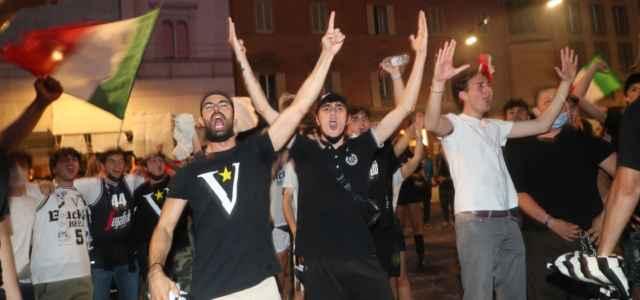 Virtus Bologna festa scudetto lapresse 2021 640x300
