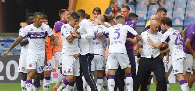 Fiorentina bianca gruppo esultanza lapresse 2021 640x300