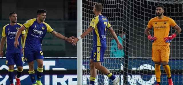 Simeone Barak Caprari Verona gol Roma lapresse 2021 640x300