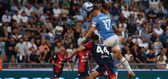 Ciro Immobile Lazio Cagliari gol testa lapresse 2021 640x300