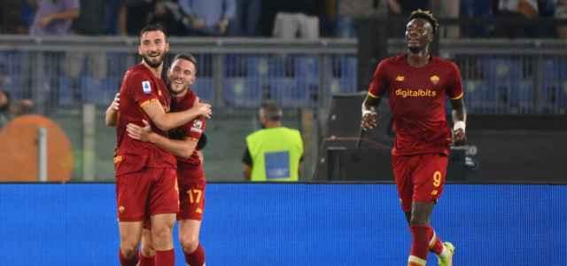 Cristante Veretout Abraham Roma gol lapresse 2021 640x300
