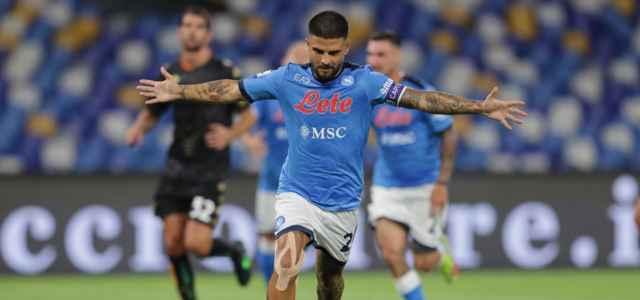 Lorenzo Insigne gol Napoli Venezia lapresse 2021 640x300