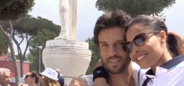 Carolina Marconi in compagnia del fidanzato Alessandro Tulli