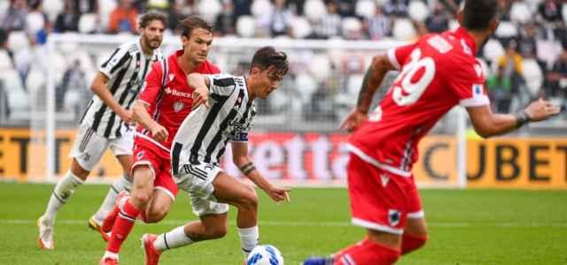 Dybala Ekdal Juventus Sampdoria lapresse 2021 640x300
